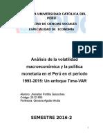 Time-VAR PERU