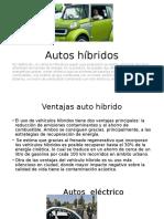 Autos Híbridos Y ELECTRICO