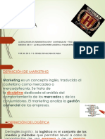 Sesión 5 - La Relación Entre Logística y Marketing