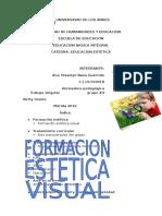 Formacion Estetica Visual