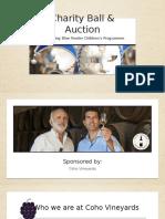 Coho Vineyards charity auction.pptx