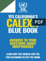 Calexit Blue Book