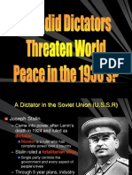 wwii rise of dictators and primary causes