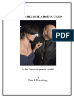 How to Become a Bodyguard - in the European private market