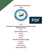 Tarea 1. Historia de Las Civilizaciones Antiguas (1)