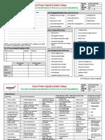 Format - Task Based Hazard Identification & Risk Assessment