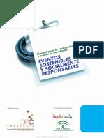 Manual Para La Realización y Puesta en Marcha de Eventos Sostenibles y Socialmente Responsables