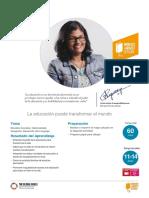 21 Lección 12 ejemplo 11 - 14 años La educación puede transformar el mundo - Copiar.pdf
