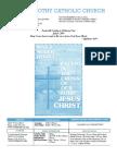 St. Timothy Parish Bulletin - July 4th, 2010