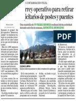 28-01-17 Inicia Monterrey operativo para retirar anuncios publicitarios de postes y puentes