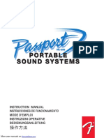 Passport Portable Sound Systems