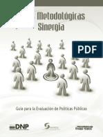 GuíaParalaEvaluaciónDePolíticasPúblicasSinergiaDnp12Ideas