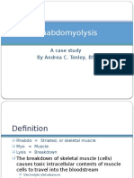 rhabdomyolysis case study weebly