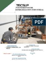Mantenimiento del sistema de refrigeración industrial