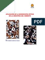 Aplicación de La Microscopía Óptica en La Industria Del Cemento