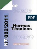 002-2011 Norma Técnica Nt-002-2011 R-03 Fornecimento de Energia Elétrica Em Tensão Primária de Distribuição
