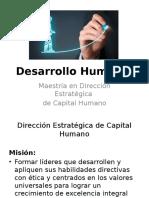 Desarrollo humano 2017
