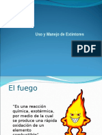 Uso y Manejo Extintores