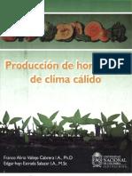 Produccion de Hortalizas de Clima Calido