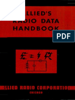 Allied Radio Data Handbook 1943