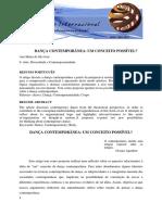 Microsoft Word - Danca Contemporanea Um Conceito Possivel