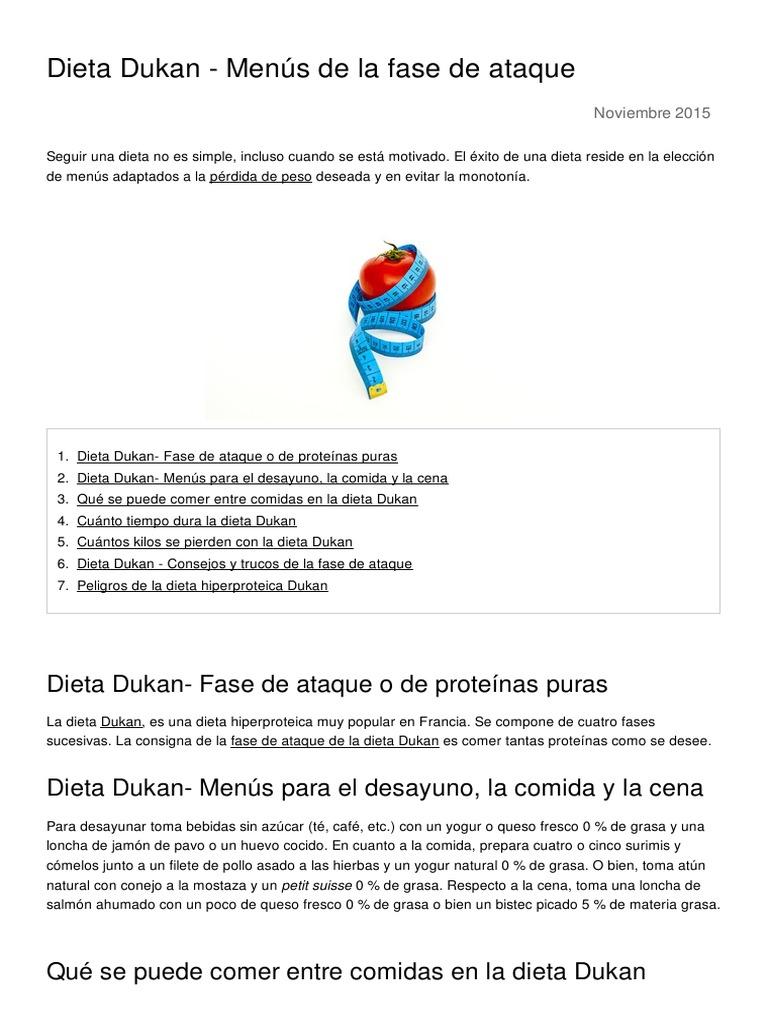Dieta Dukan Menus De La Fase De Ataque 3870 Ny4u5f