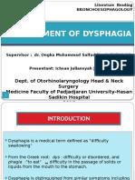 Management of Dysphagia Ij