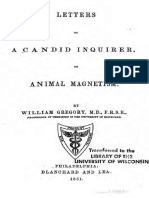 1851 Gregory Letters to a Candid Inquirer on Animal Magnetism