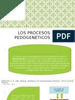"""Edafologia """"procesos pedogeneticos"""""""