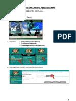 PANDUAN MENGEMASKINI PROFIL PERKHIDMATAN.doc