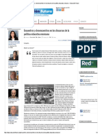 Encuentros y Desencuentros en Los Discursos de La Política Educativa Mexicana – Educación Futura