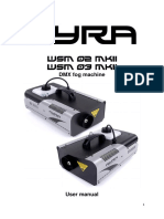 Ayra Wsm 02 03 Mkii Fog Machine User Manual