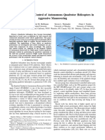 Aerodynamics and Control of Autonomous Quadrotor Helicopters in Aggressive Maneuvering (2)