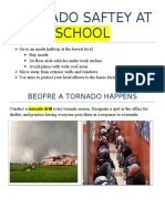 tornado saftey at school