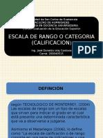 Escala de Rango Jose Ixlaj