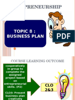 Chapter 8 Business Plan