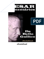 Comentários sobre a Guerra Gálica - Caio Julio César.pdf