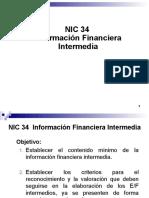 NIC 34 Información Financiera Intermedia CON SOLUCION