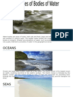 Different Types of Water Bodies