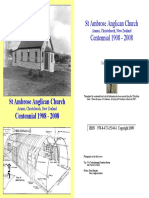 Ambrose Church Centennial 1908-2008
