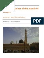 Salawaat Shaban Booklet