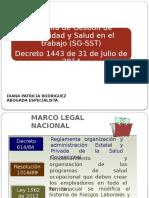 Sgsst Decreto 1443 de 2014 Def