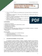 Valoracion de La Condicion Fisica-TEST-Y-PRUEBAS