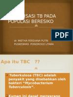 Sosialisasi TB Mietha