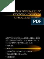 Adobe, Albañileria y Muros de Ductilidad Limitada