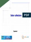 Solco Training Solar Collectors En