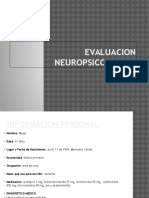 Expo Evaluacion Neuropsicologica