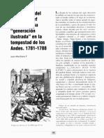 """Al otro lado del mundo. Josef Reseguín y su """"generación ilustrada"""" en la tempestad de Los Andes. 1781 -1788 (Juan Marchena Fernández)"""