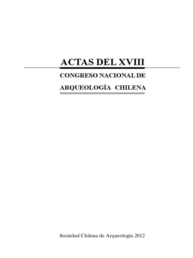 a64f0c1e0ab6e Actas del congreso de arqueología 2010