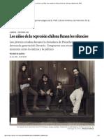 Escritores de Chile_ Los Niños de La Represión Chilena Llenan Los Silencios _ Babelia _ EL PAÍS